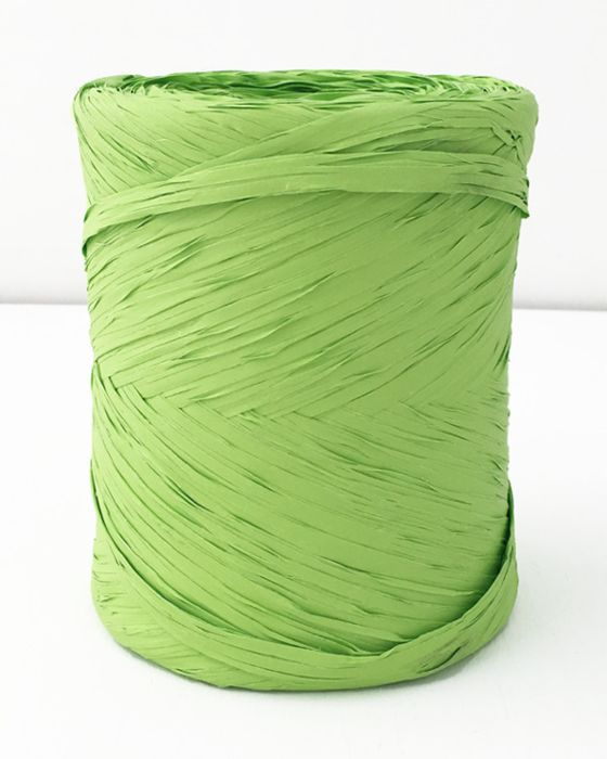 Poly Raffia 5 mm x 200 Metres Lime