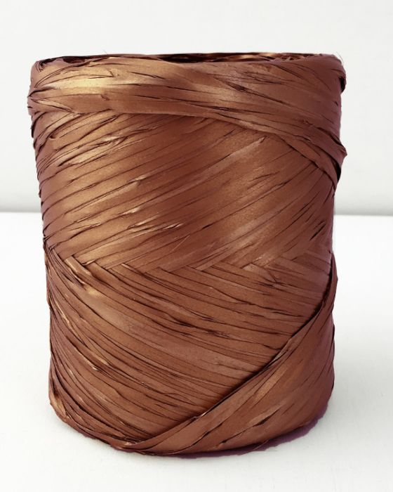 Poly Raffia 5 mm x 200 Metres Copper