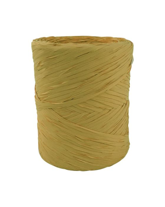 Poly Raffia 5 mm x 200 Metres Gold