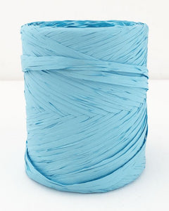 Poly Raffia 5 mm x 200 Metres Pale Blue