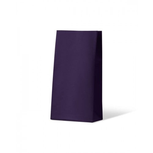 Purple Medium Flat Bottom Gift Party Bags