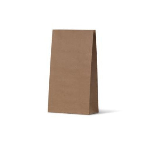 Brown Medium Flat Bottom Gift Party Bags