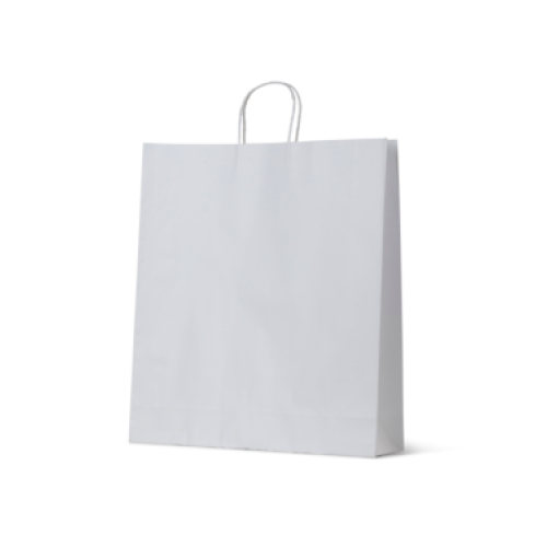 White Kraft Extra Large Paper Carry Bags
