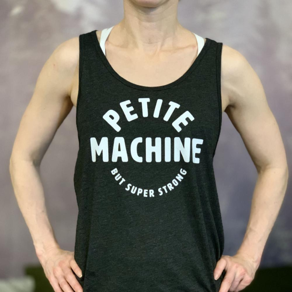 Petite machine Women's Tank Top Gray