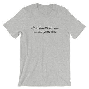 Dumbbells dream about you too Grey Men's-Dumb & Dumbbell