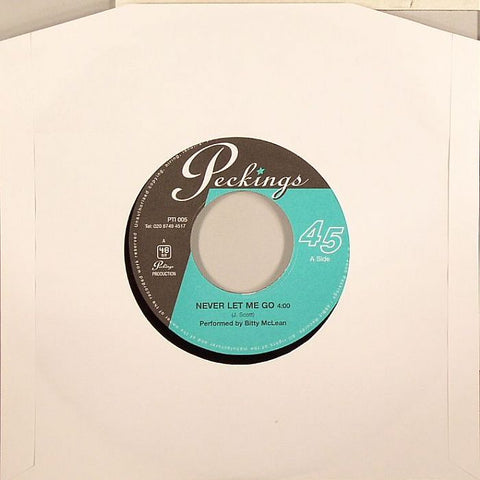 "Bitty McClean / Jericho Horn Section - Never Let Me Go / Fully Loaded 7"" Vinyl"