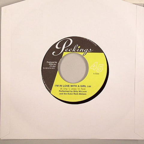 "Bitty McLean / Duke Reid All Stars - I'm In Love With a Girl / Only You 7"" Vinyl"