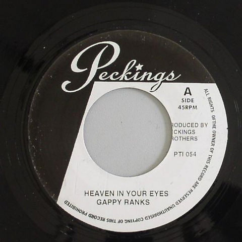 "Gappy Ranks / Bunny Lie Lie - Heaven In Your Eyes / My Life 7"" Vinyl"