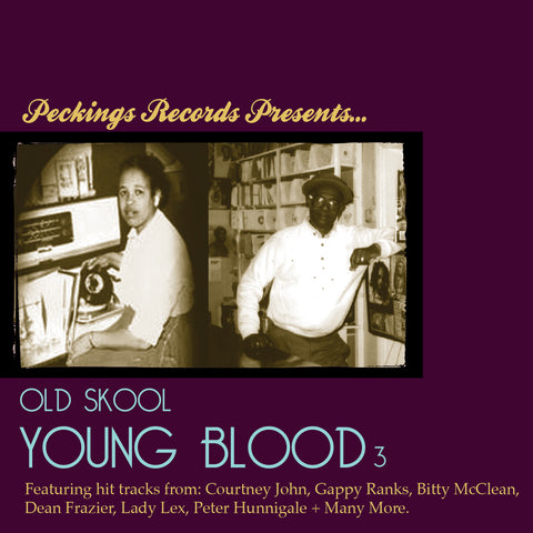 Peckings Presents Old Skool Young Blood Vol 3 CD