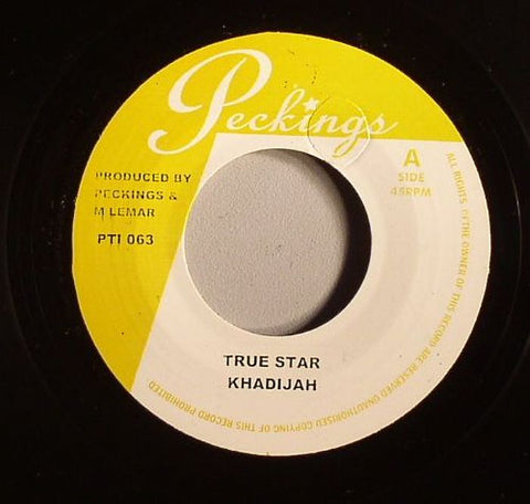 "Khadijah / Sadiki - True Star / Lovers Flight 7"" Vinyl"