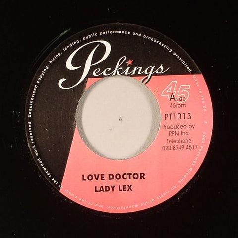 "Lady Lex / Natijah - Love Doctor / Open My Gate 7"" Vinyl"