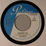 "Luciano / Professor Levy - Moving On / Deliverance 7"" Vinyl"