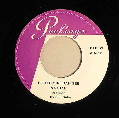 "Natijah / Serge - Little Girl Jah See / Sir Peckings Special 7"" Vinyl"