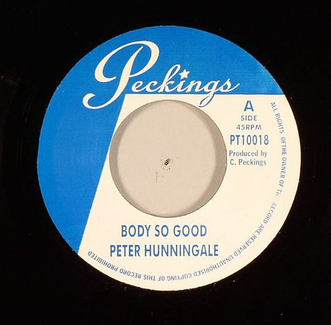 "Peter Hunnigale / Lady Lex - Body So Good / What A Difference A Day Makes 7"" Vinyl"