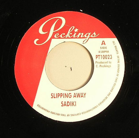 "Sadiki / Richie Davis - Slipping Away / What If 7"" Vinyl"