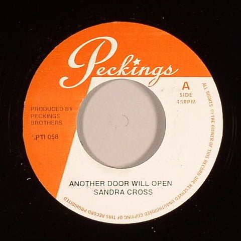 "Sandra Cross - Another Door Will Open / Another Door Will Open (version) 7"" Vinyl"