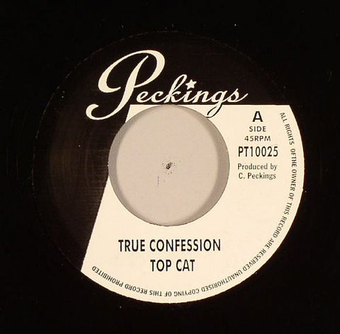 "Top Cat / Dominic - True Confession / White Veteran 7"" Vinyl"