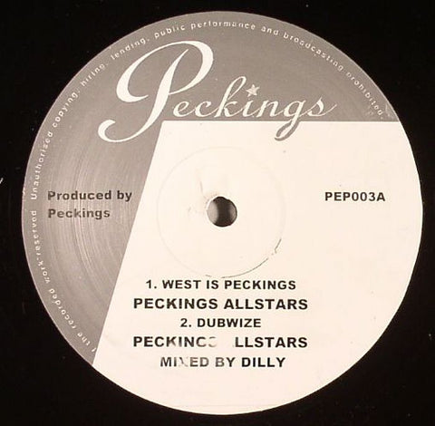 "West is Peckings 10"" Vinyl"