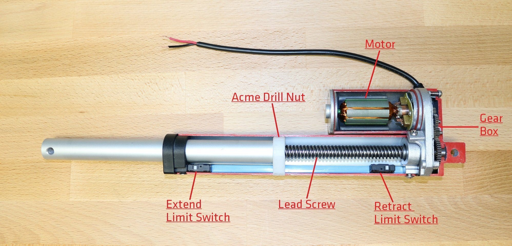 Inside An Electric Linear Actuator – Progressive Automations