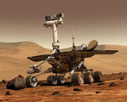 Photo of a mars rover
