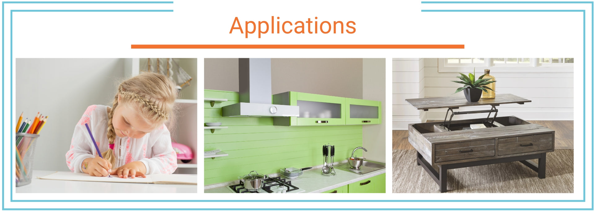 Table lifts applications