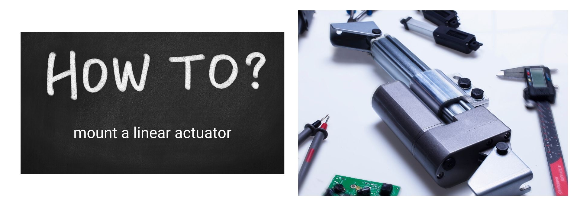 how to mount linear actuator