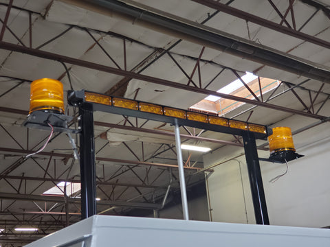 Photo of a lowering light bars