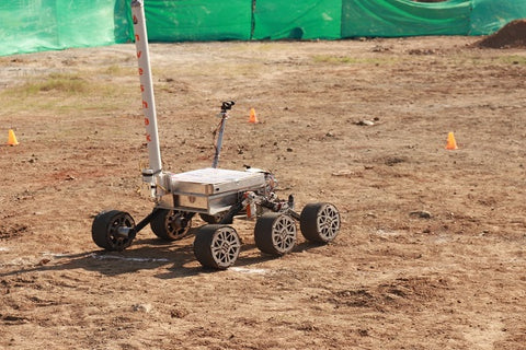 "Photo of new Mars rover the ""Caesar"""