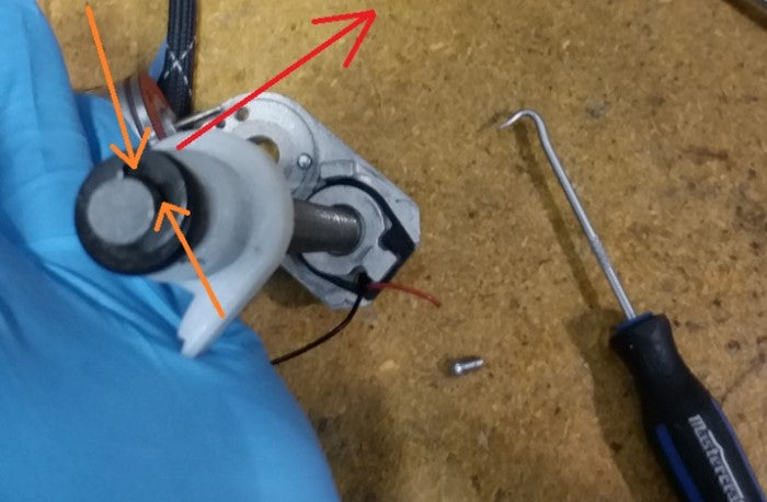 Replacing the Shaft Base with a Limit Switch Arm #11