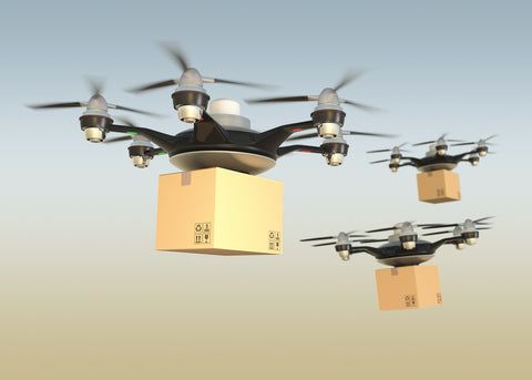 Package delivery Robots