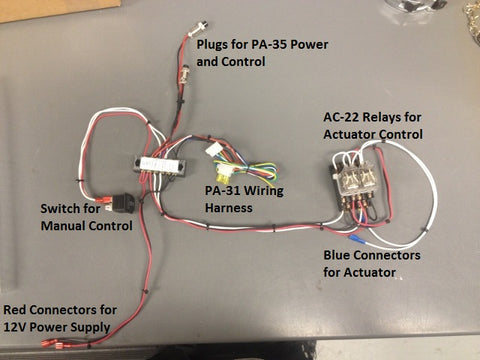 Photo of actuator control systems wiring schema