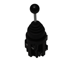 Joystick - Four Direction - Momentary - Ball Top - 10A