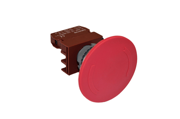 Emergency Push Button - Turn Release - 10A