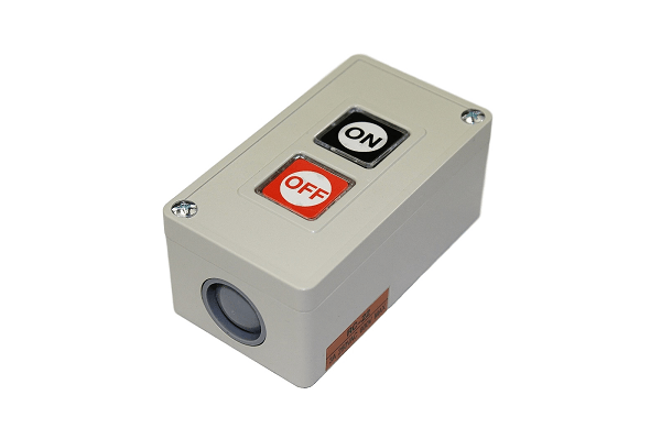 Push Button with Enclosure - 3A