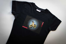 Woman's t-shirt - road derailleur design #S3