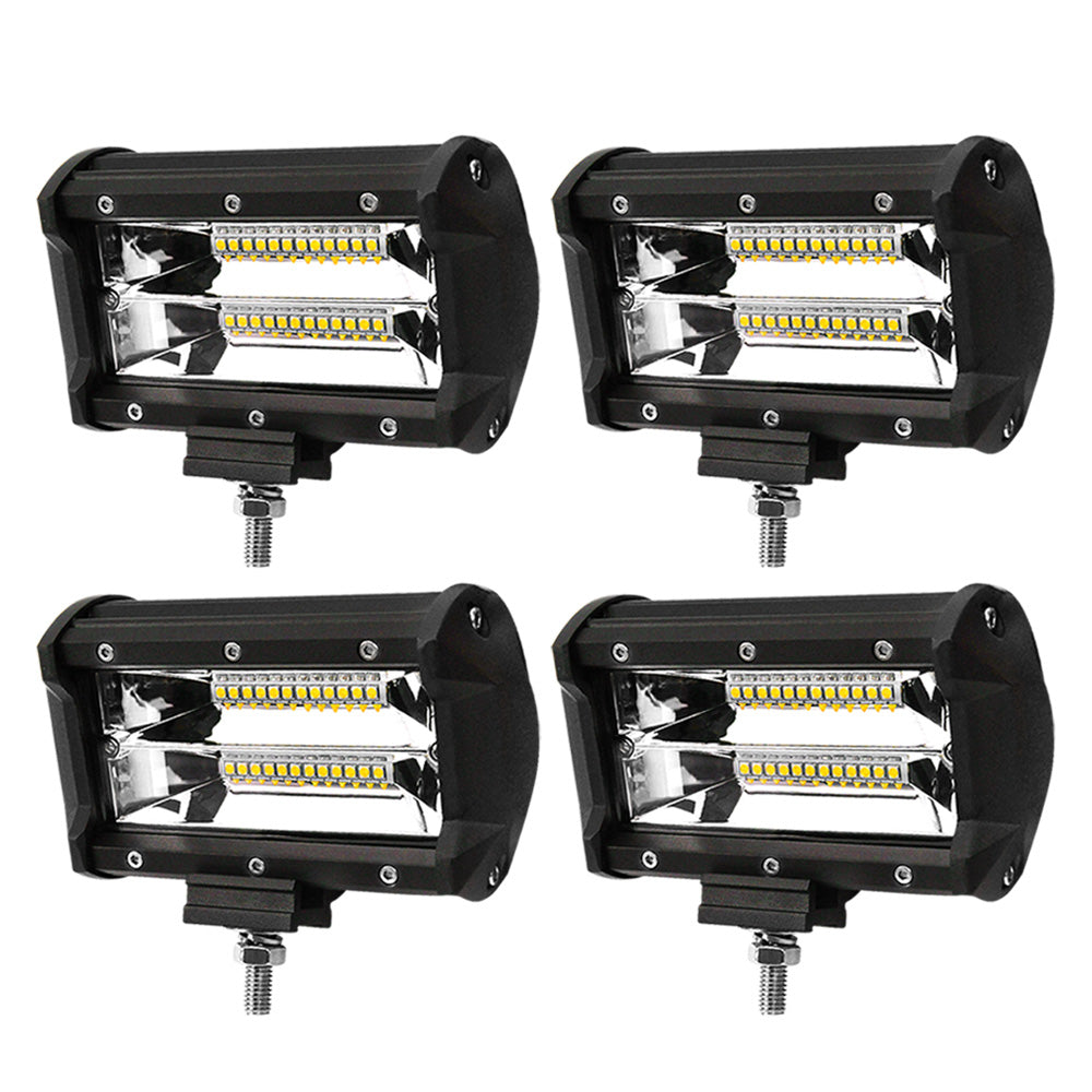 LIGHTFOX 5inch Led Light Bar 1 Lux @ 150M IP68 24000 Lumens Per Pair - Sunyee