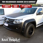 Kut Snake Flares For Volkswagen Amarok 2010-Current ABS Full Set - Sunyee
