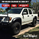 Kut Snake Flares for Holden Colorado RC 2008-2011 ABS - Sunyee