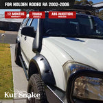 Kut Snake Flares for Holden Rodeo RA 2002-2006 ABS - Sunyee