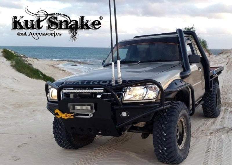 Kut Snake Flares for Nissan Patrol GU Series 1 2 3, 1997-2004 Full Set - Sunyee