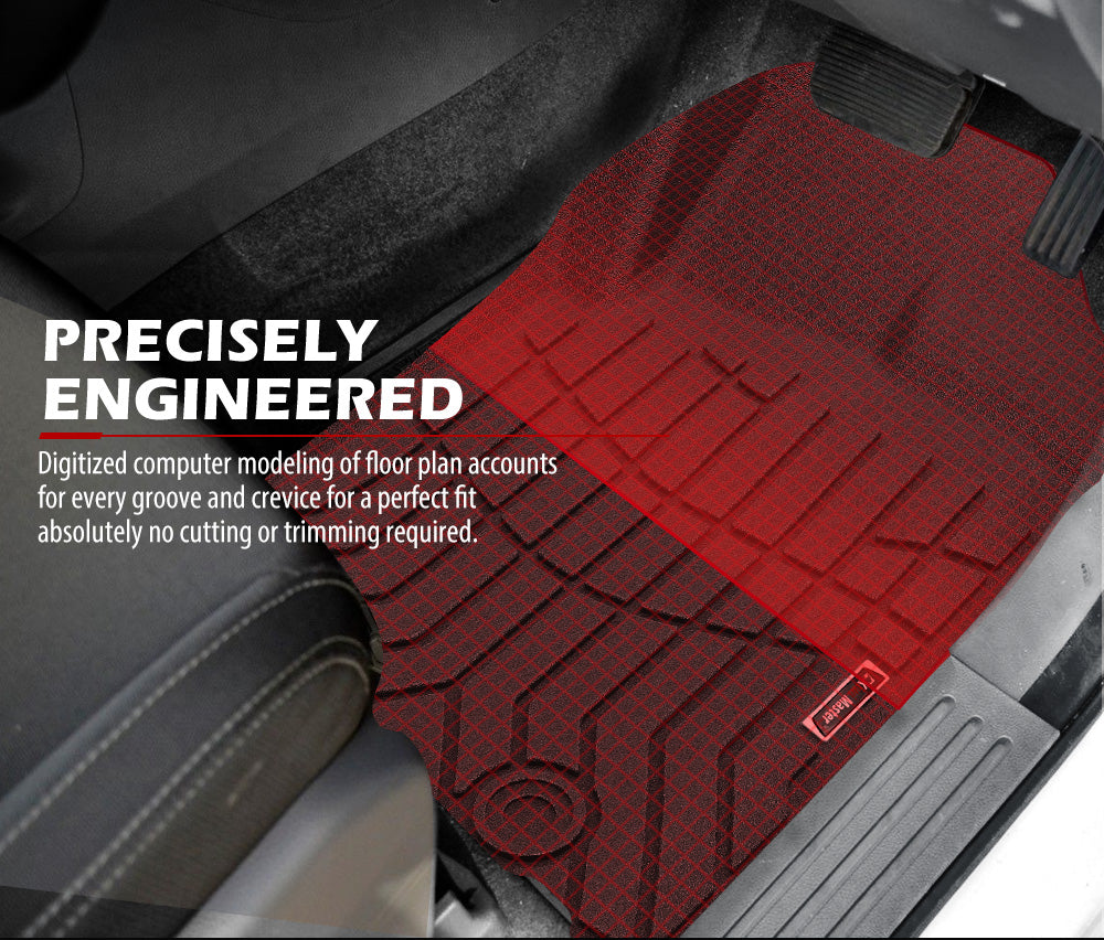 3D TPE Floor Mats for Ford Everest 2015-2020