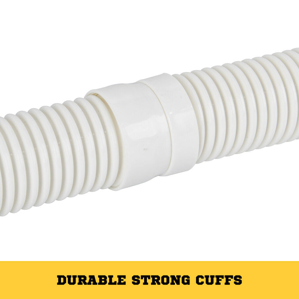 Pool Cleaner Hose Durable Strong EVA Spare Length 1Mx10 White - Sunyee