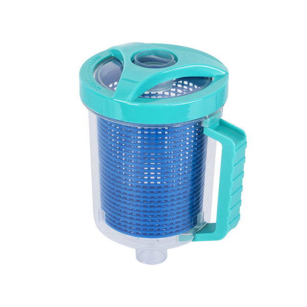 Leaf Catcher Canister Suction Vacuum Above Below Ground Swimming Pool - Sunyee