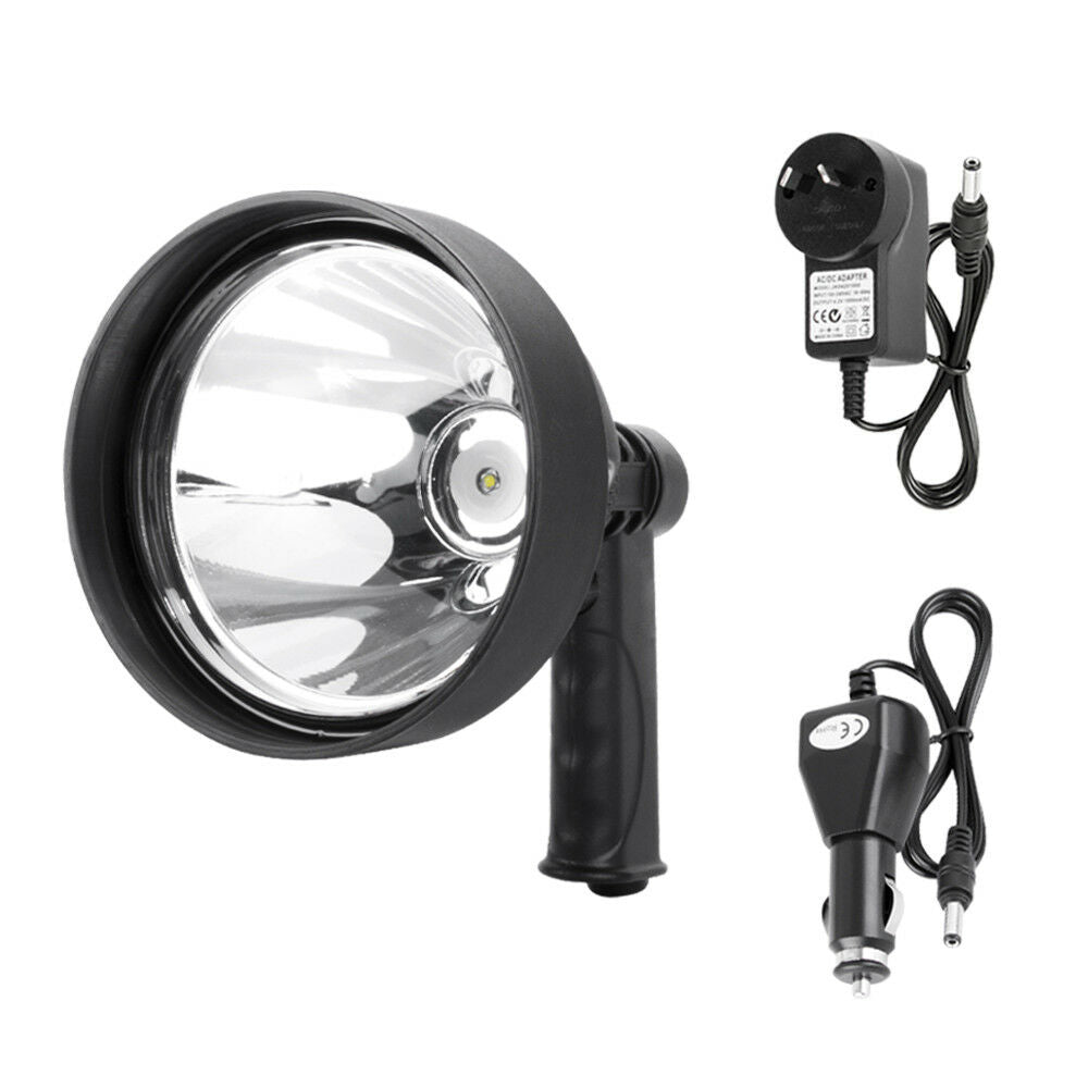 15W CREE T6 Handheld Spot Light Rechargeable LED Spotlight Hunting - Sunyee