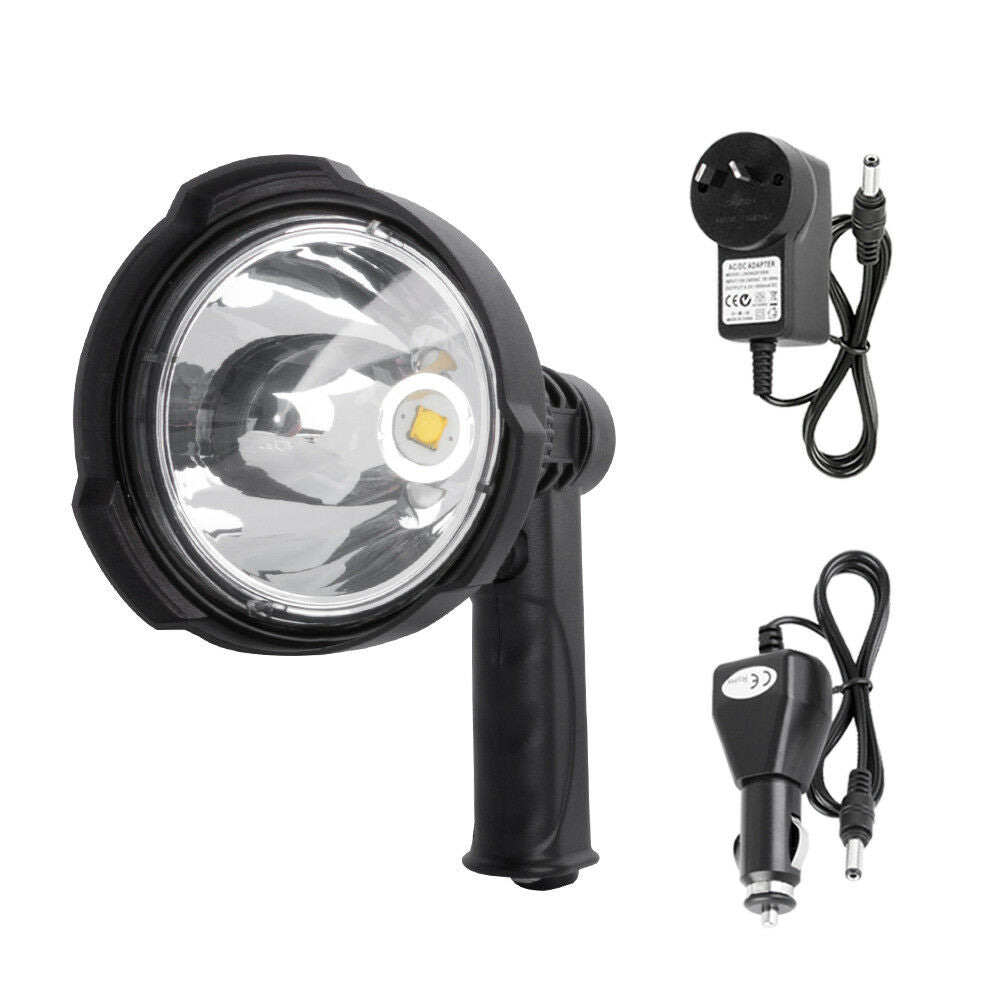 25W CREE Handheld Spot Light Rechargeable LED Spotlight Hunting - Sunyee