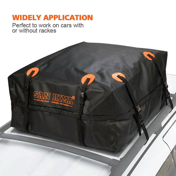 Universal Waterproof Car Roof Top Rack Bag Cargo Carrier Luggage - Sunyee