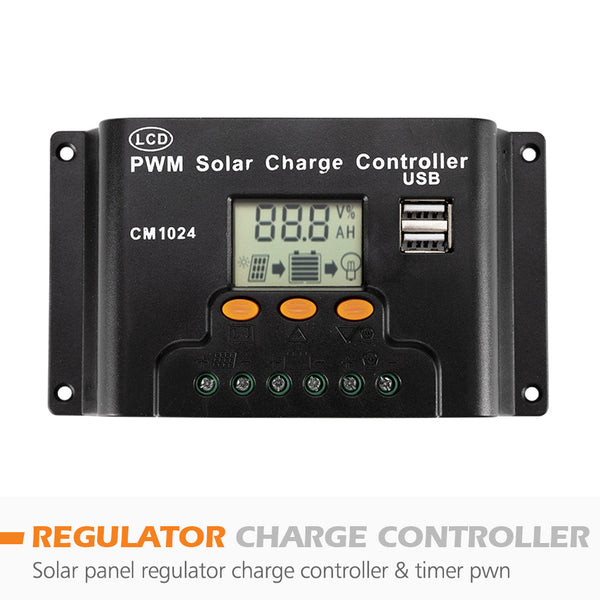 12V 250W 200W 130W 100W Solar Panel 20A 30A Solar Power Regulator - Sunyee