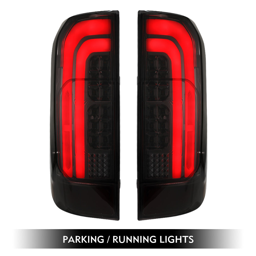 LED Tail Rear Lamp Lights Smoked For Nissan Navara NP300 D23 2015-2019 - Sunyee