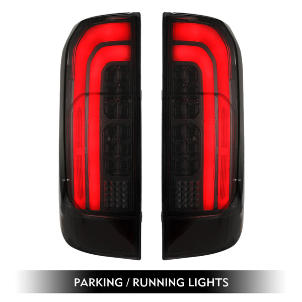 LED Tail Rear Lamp Lights Smoked For Nissan Navara NP300 D23 2015-2019
