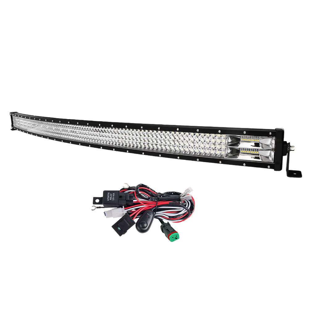 LIGHTFOX 50inch Led Light Bar 1 Lux @ 620M IP68 356000 Lumens - Sunyee